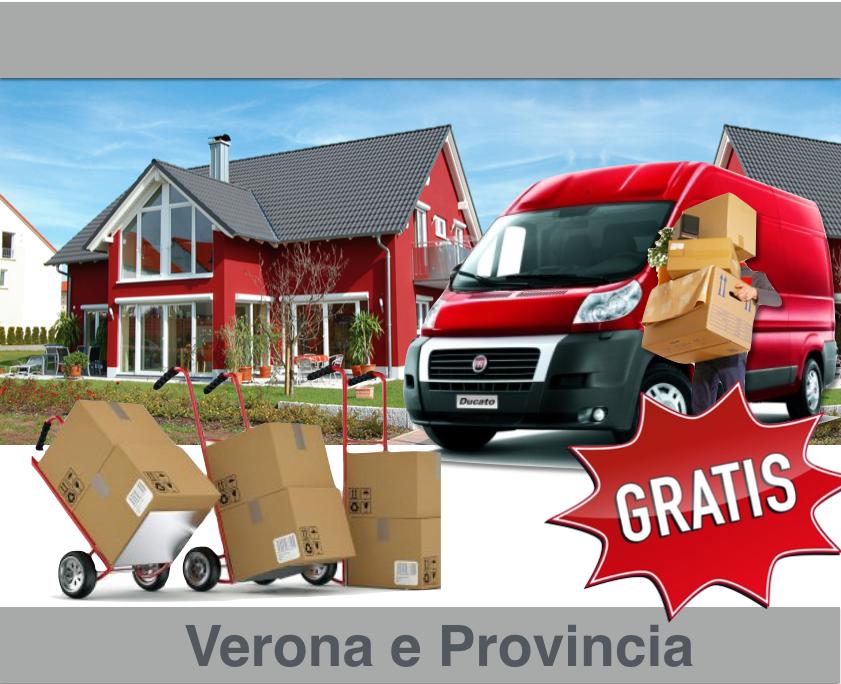 Svuoto appartamenti Legnago e Verona Gratis