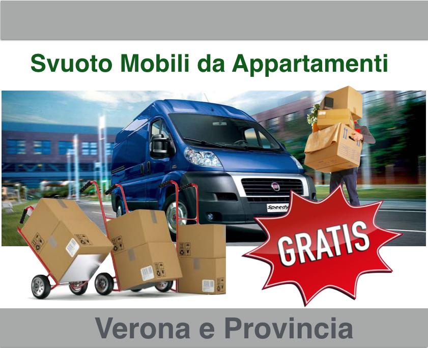 Svuoto appartamenti a Sona e Verona