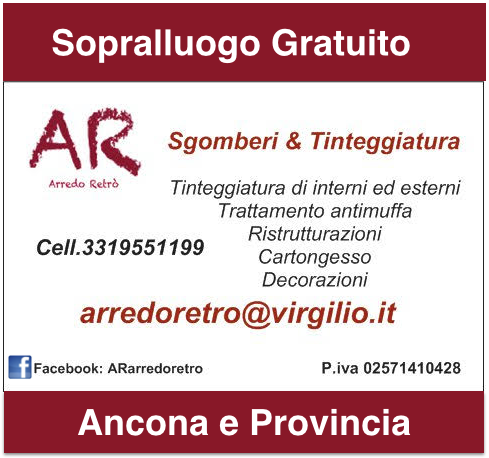 Arredo Retrò Svuota Appartamenti Ancona e Provincia